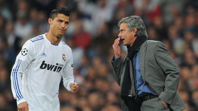 Cristiano Ronaldo José Mourinho Florentino Pérez