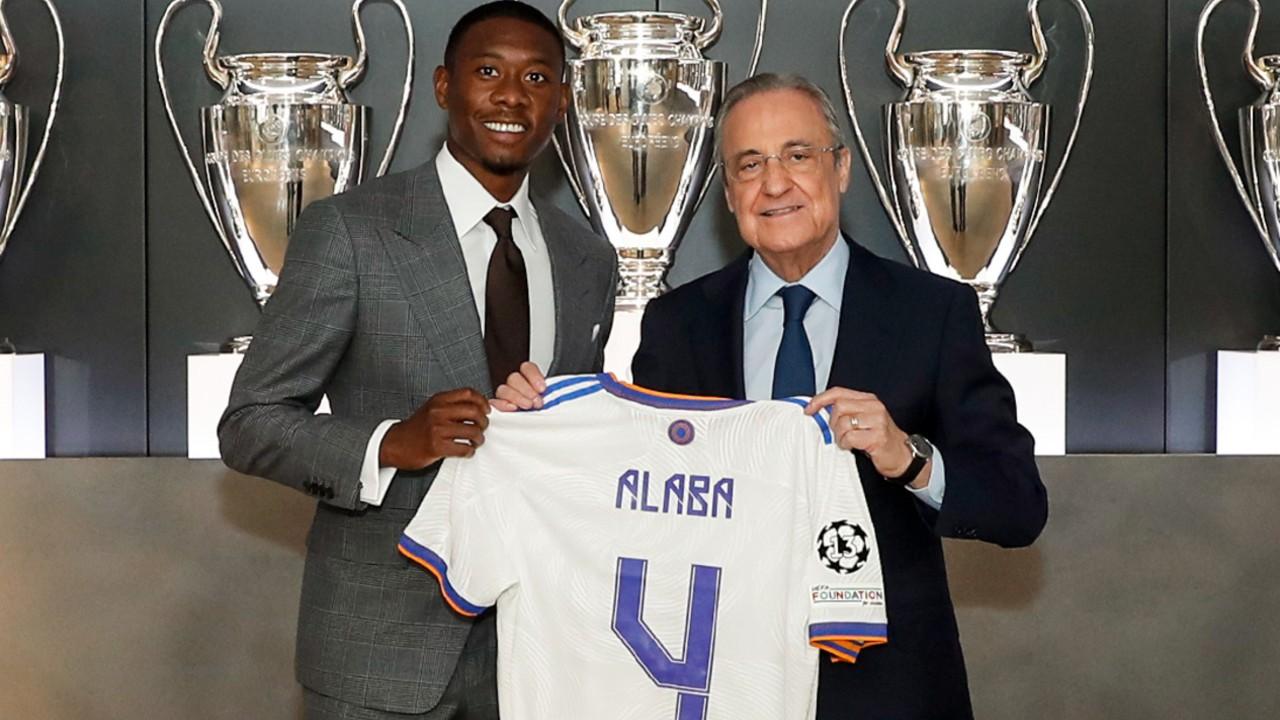 jugadores del Real Madrid david alaba fichajes