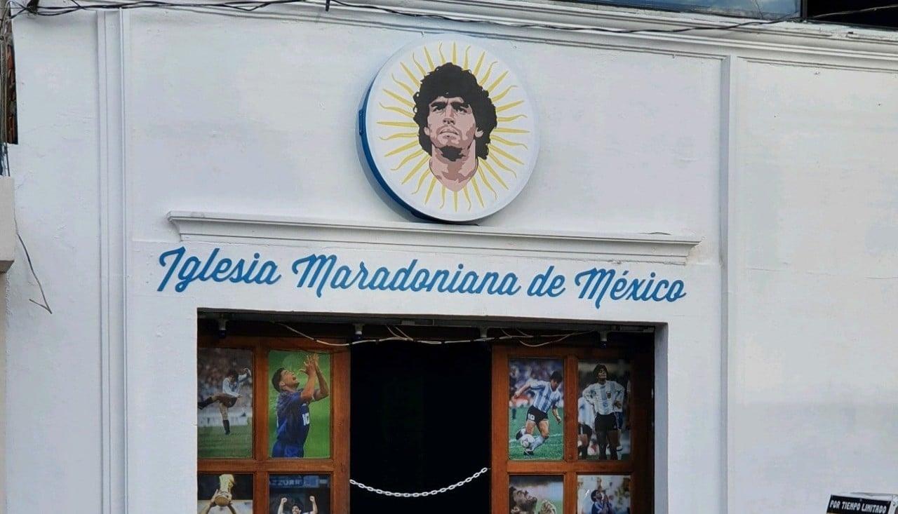 Iglesia Maradoniana México