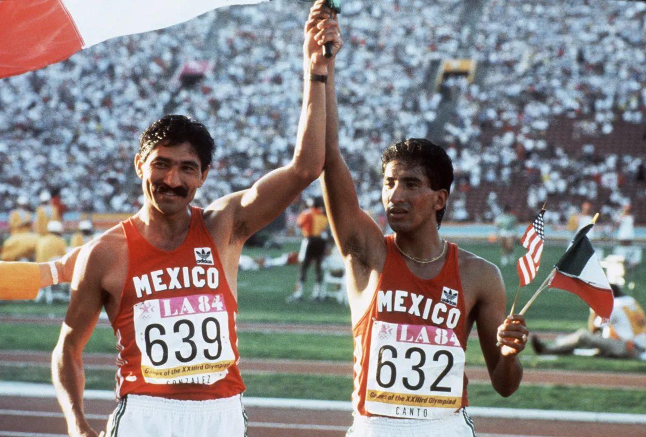 Ernesto Canto medallista Los Ángeles 1984