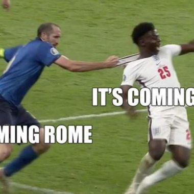 Eurocopa 2020 memes Italia campeón