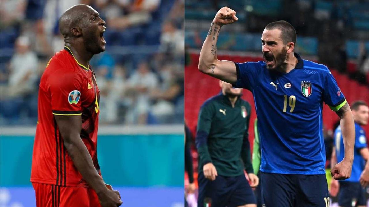 Eurocopa 2020 Bélgica italia cuartos de final
