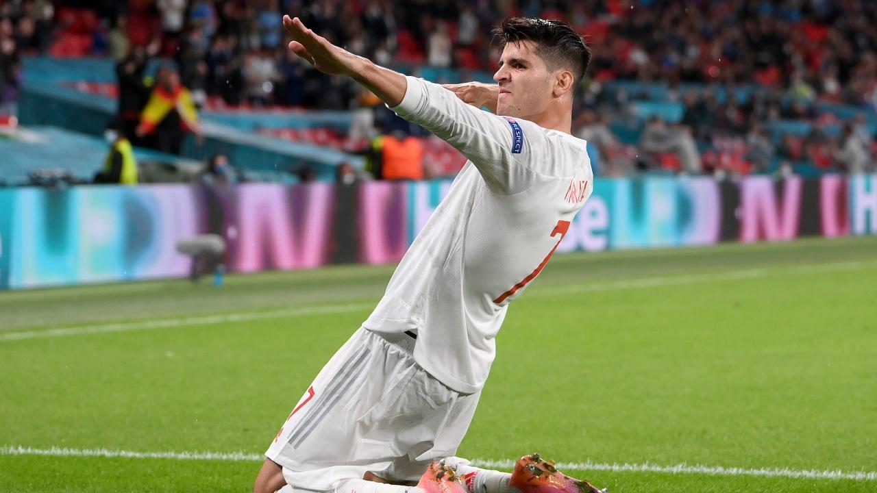 Eurocopa 2020: Así fue el gol de Álvaro Morata para dar vida a España en contra de Italia