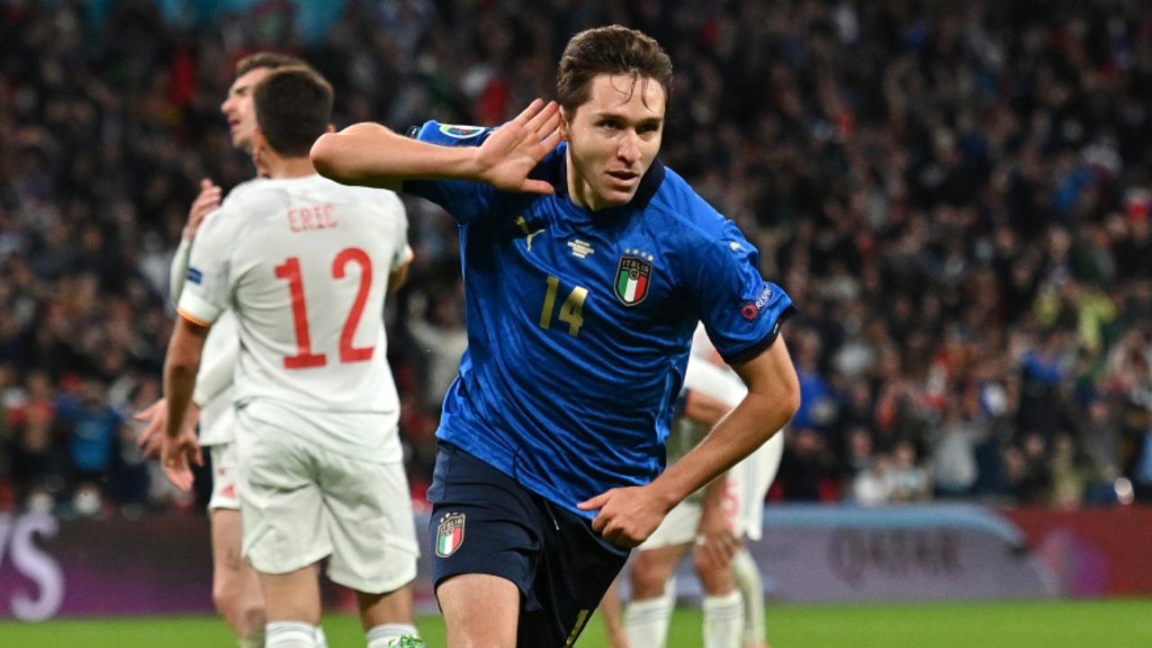 Eurocopa 2020: Federico Chiesa hace un golazo en contra de España