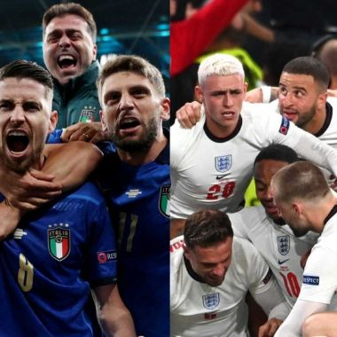 Eurocopa 2020: Inglaterra e Italia revelan sus alineaciones para la gran final