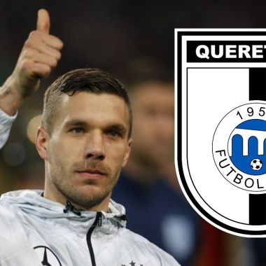 Lukas Podolski liga bbva mx club querétaro