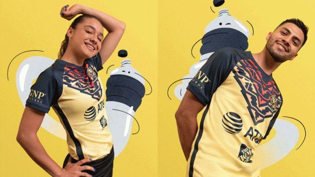 Liga BBVA MX nuevo uniforme del américa 2021 apertura