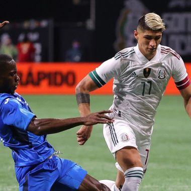 Jugadores de la Selección Mexicana Honduras