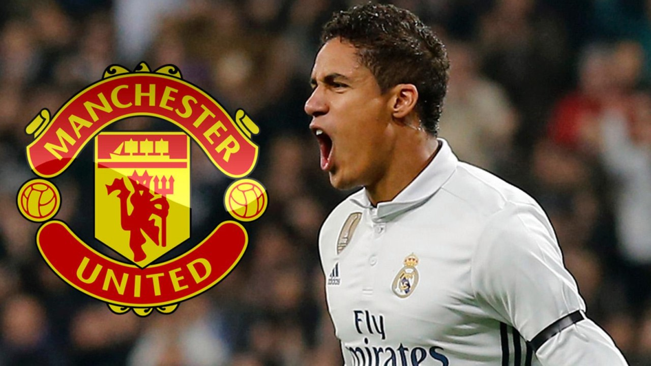 Manchester United anuncia el fichaje de Raphaël Varane