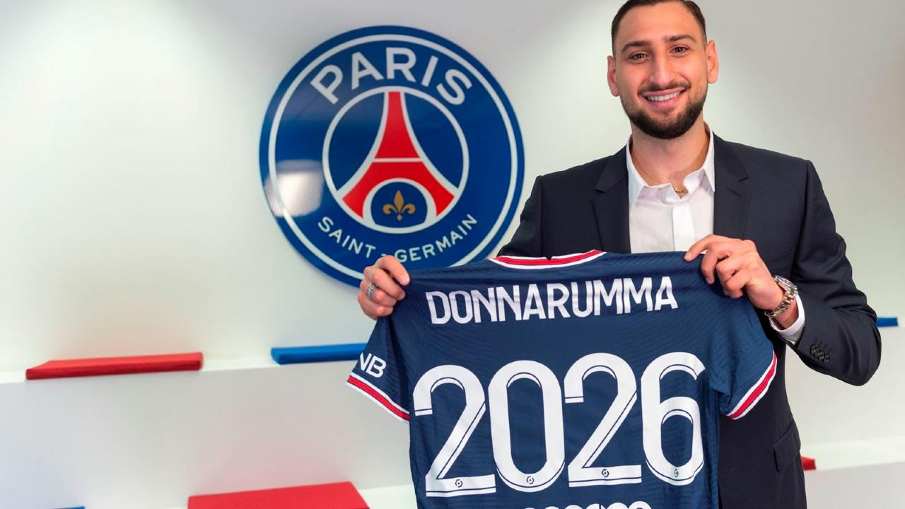 PSG hace oficial la contratación de Gianluigi Donnarumma