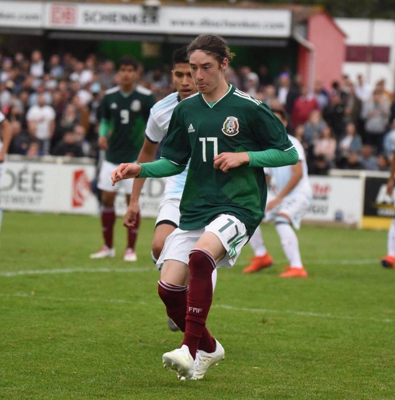 Marcelo Flores Selección Mexicana
