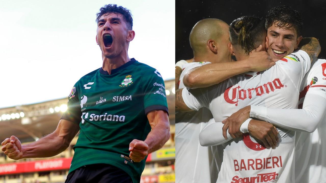 Resultados Liga BBVA MX_ Santos golea y Juárez de Tuca Ferretti pierden ante Toluca en su debut
