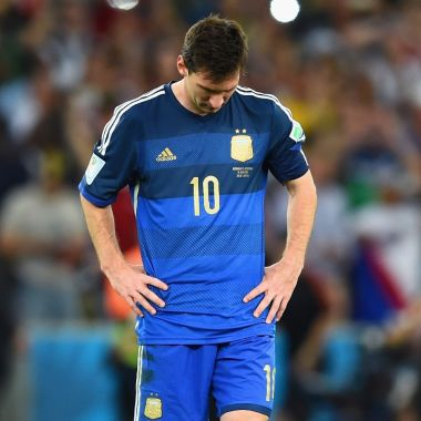 finales perdidas lionel messi argentina