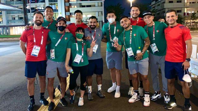 Jugadores de la Selección Mexicana Alexa Moreno