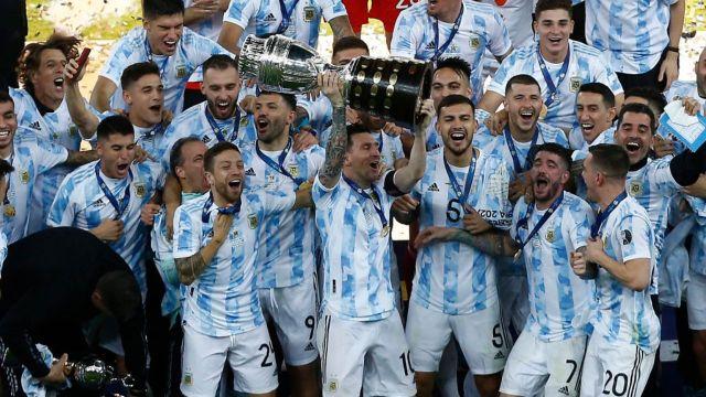 Argentina Copa América campeón
