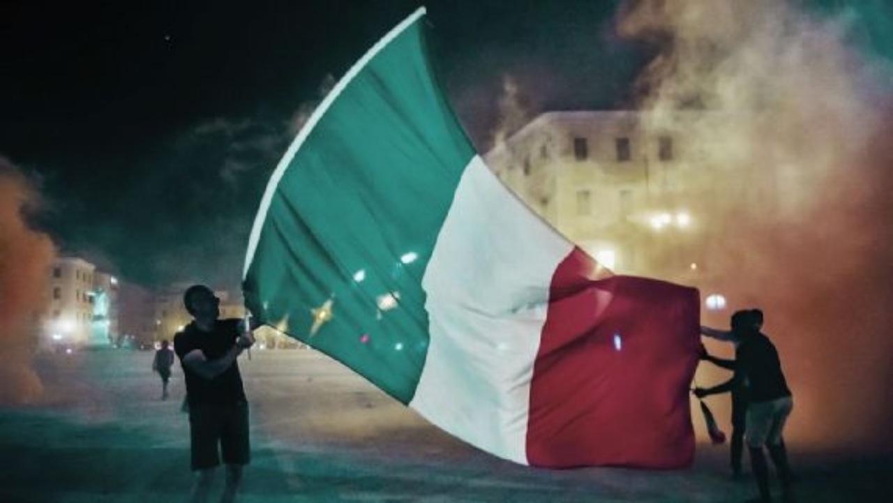 Italia celebraciones muerto Eurocopa 2020
