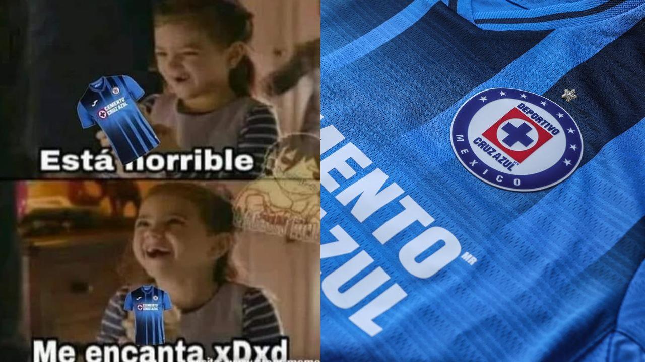 memes del Cruz Azul uniforme