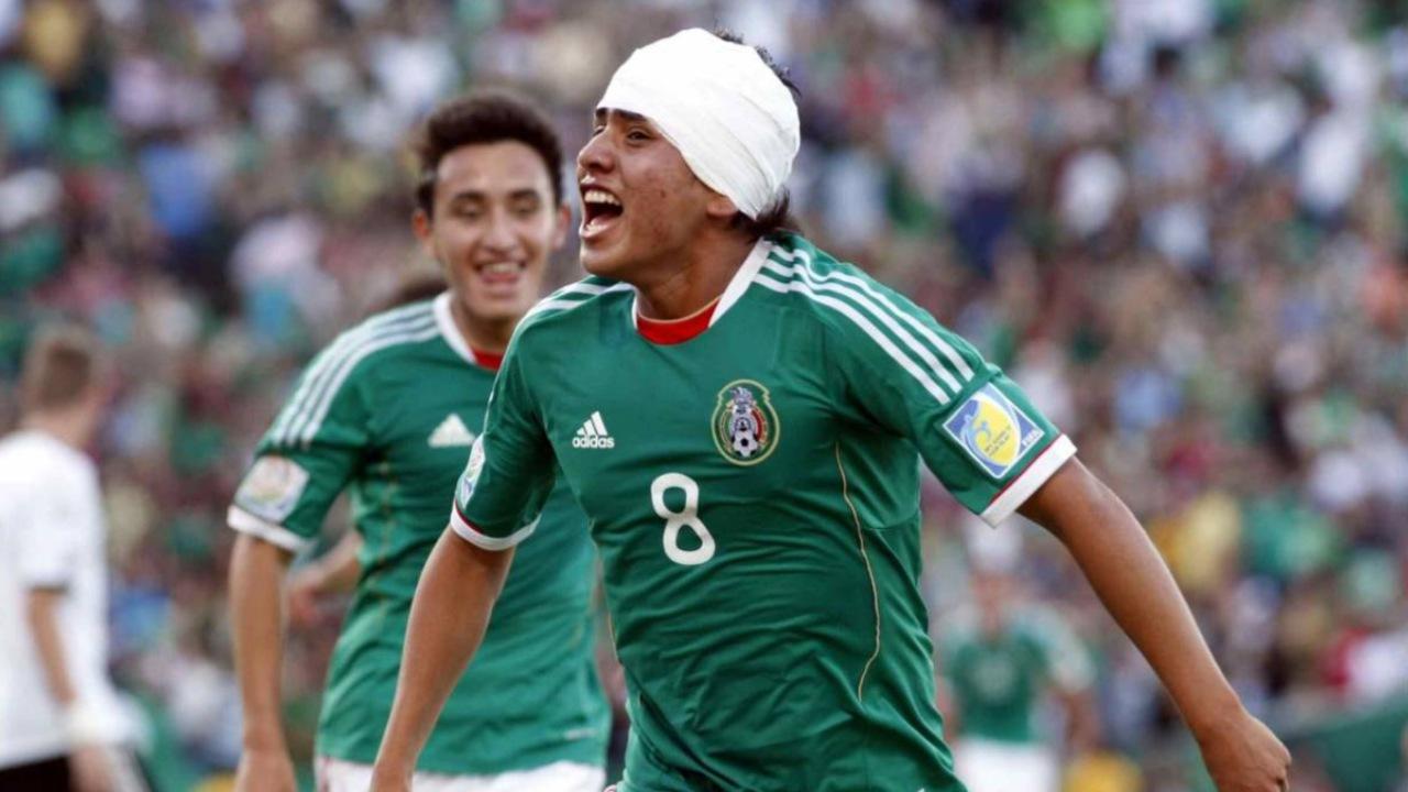 Julio Gómez México sub-17 chilena