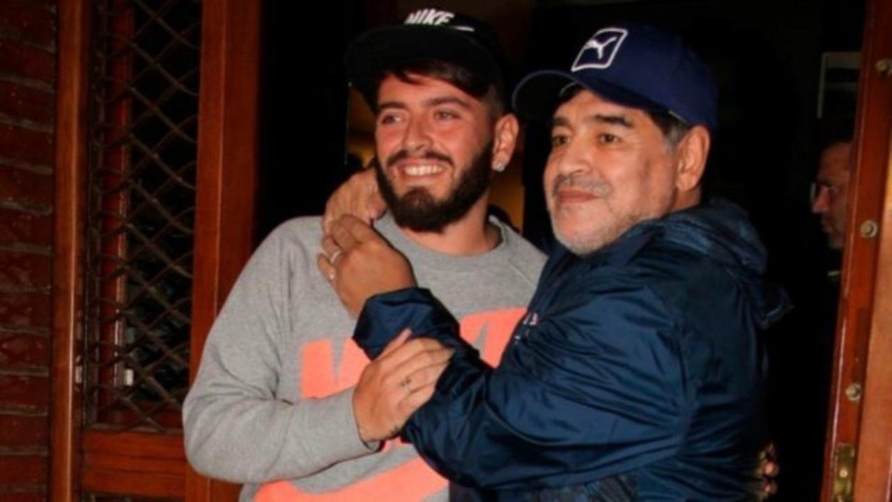 Diego Maradona Jr. director técnico Napoli