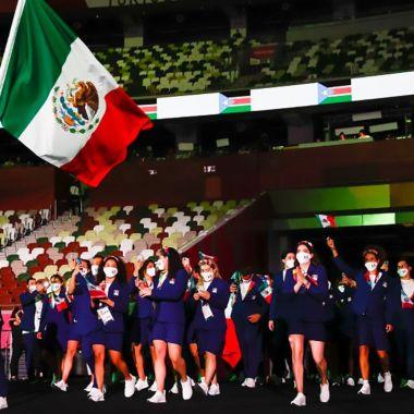 Tokyo 2020 delegación mexicana
