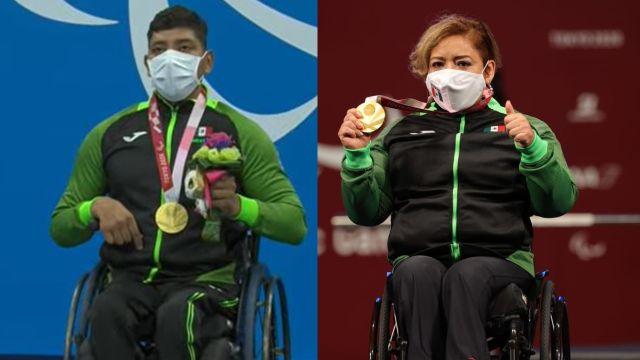 Juegos Paralímpicos Tokyo 2020 Amalia Pérez Jesús Hernández