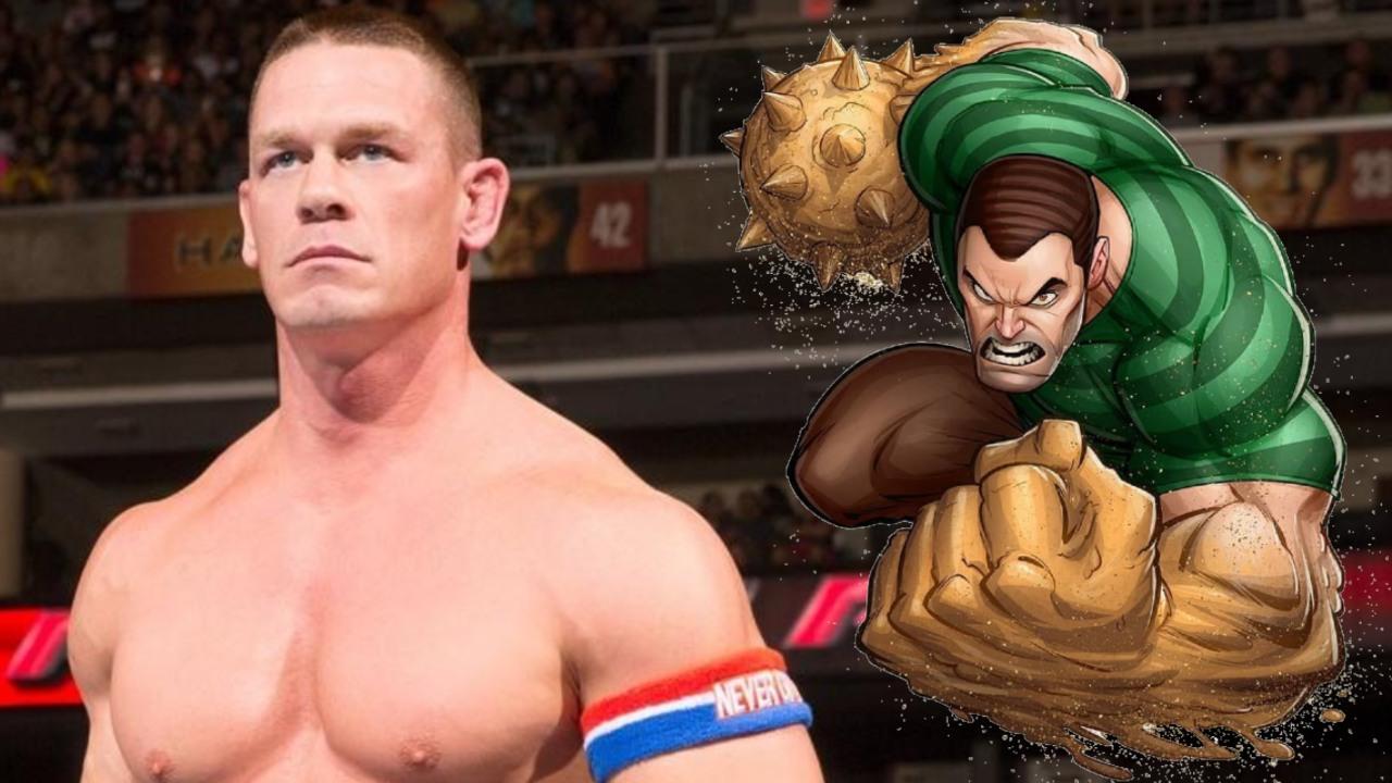 Artista convierte a John Cena en Sandman, enemigo de Spider-Man (1)
