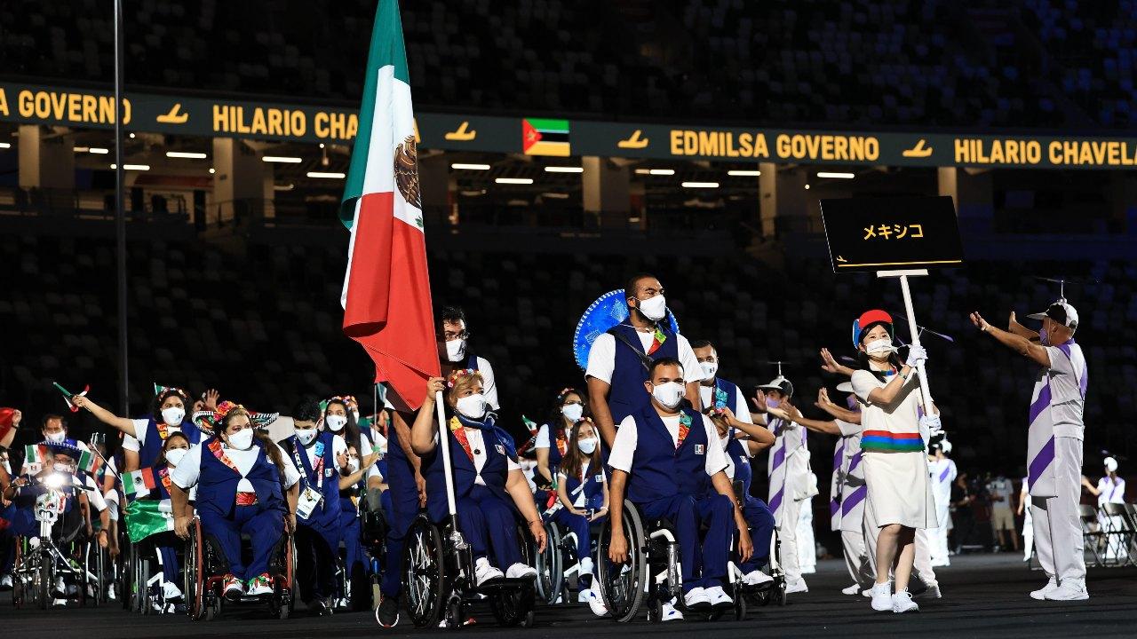 Tokyo 2020 Juegos Paralímpicos delegación mexicana