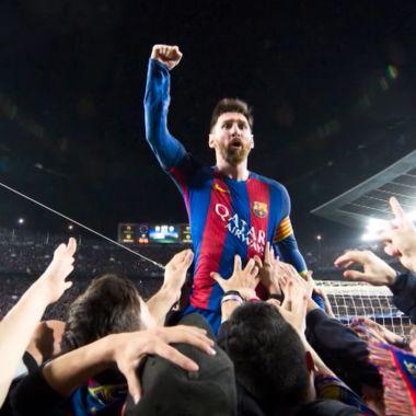Barcelona lionel messi video despedida