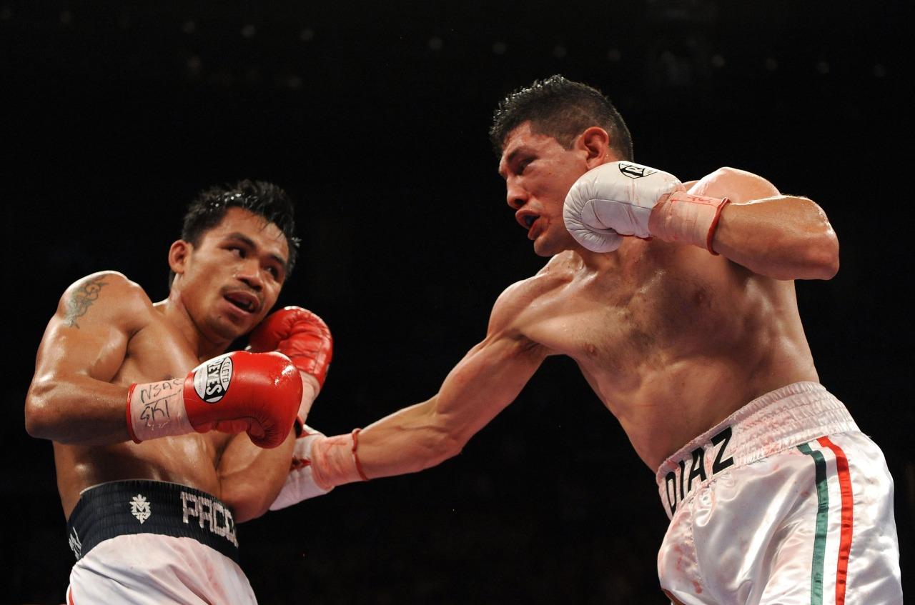 Manny Pacquiao cuarto campeonato mundial