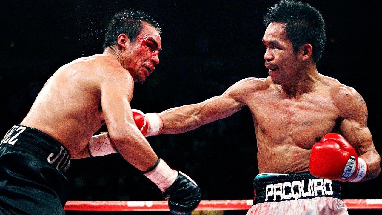 Manny Pacquiao tercer campeonato mundial