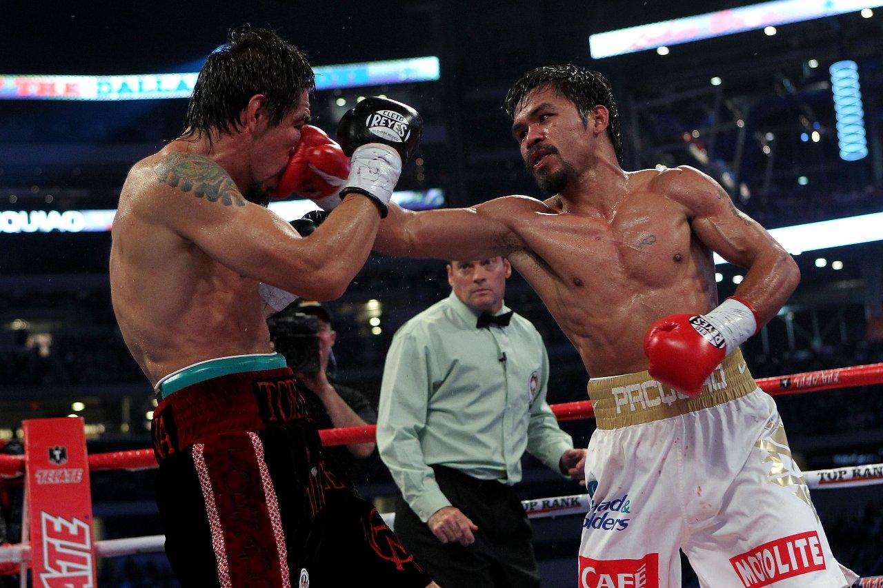 Manny Pacquiao sexto campeonato mundial