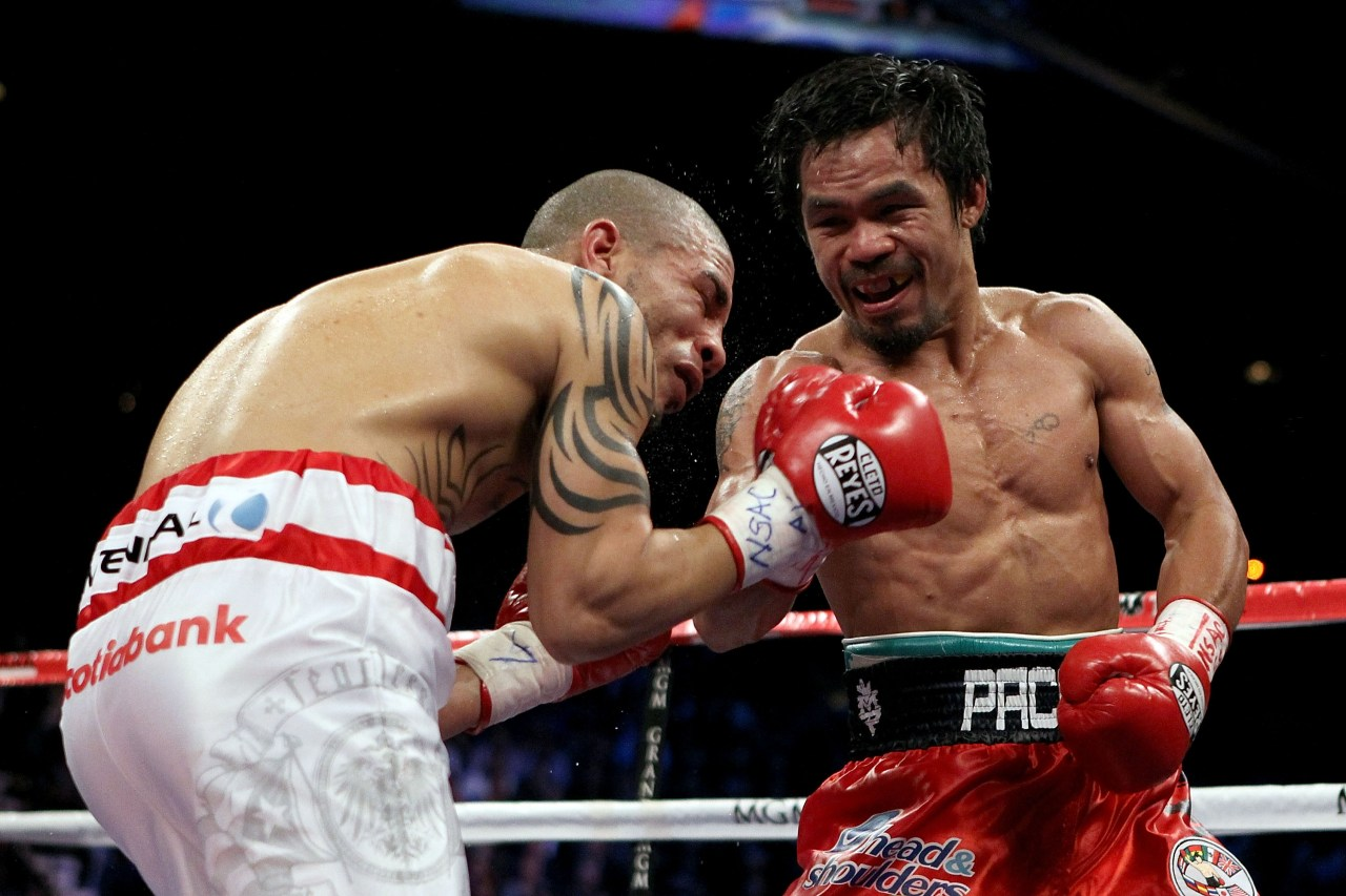 Manny Pacquiao quinto campeonato mundial