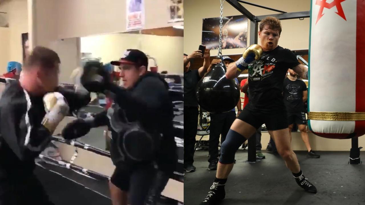 Canelo Álvarez eddy reynoso entrenamiento
