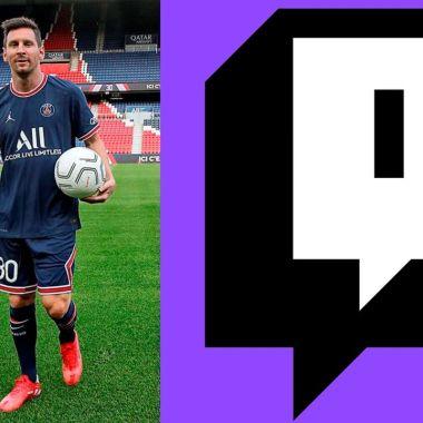 Leo Messi debut psg twitch