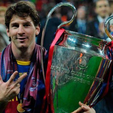 títulos Lionel Messi barcelona champions