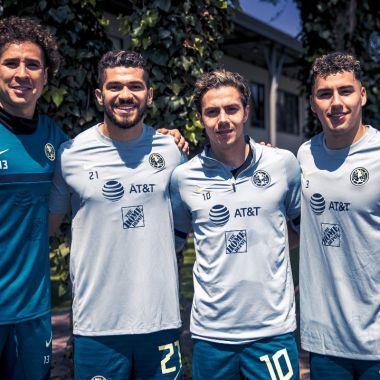 Águilas del América tokyo 2020 jugadores entrenamiento