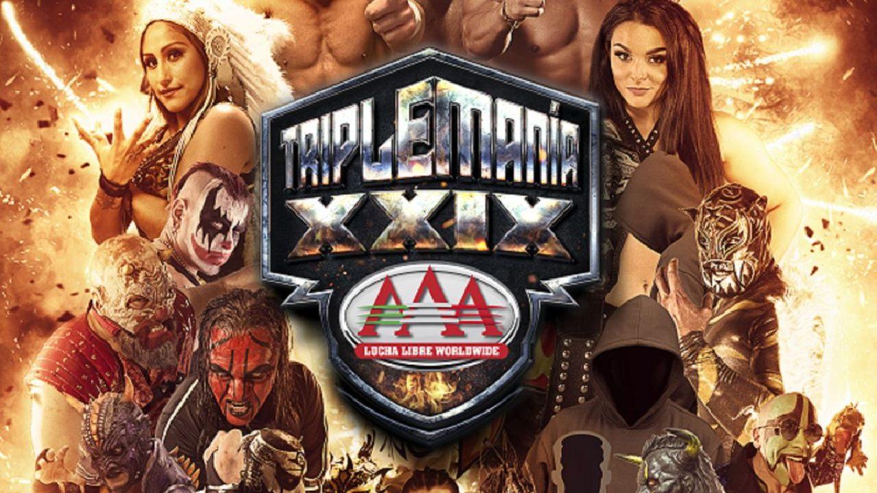 Lucha Libre AAA Triplemania 29 resultados luchas