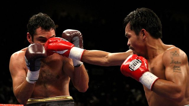 Manny Pacquiao victoria De la Hoya