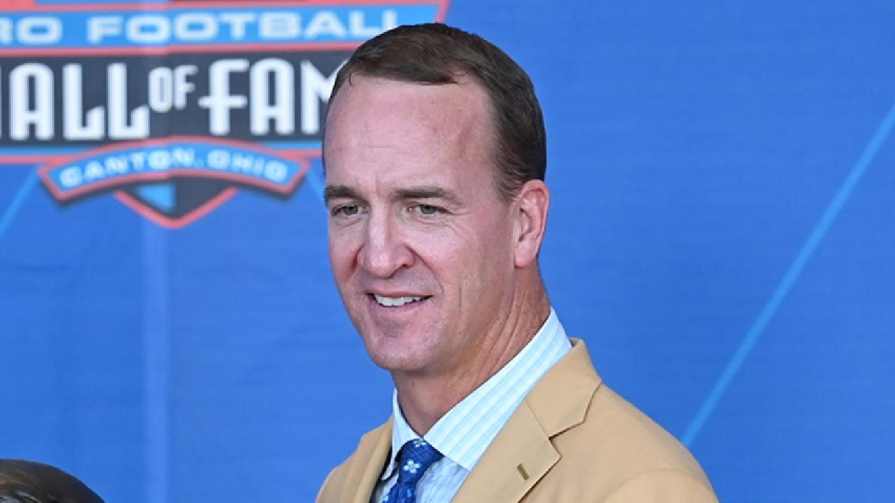 Peyton Manning Salón Fama NFL