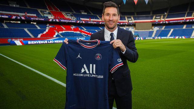 PSG hace oficial la contratación de Leo Messi