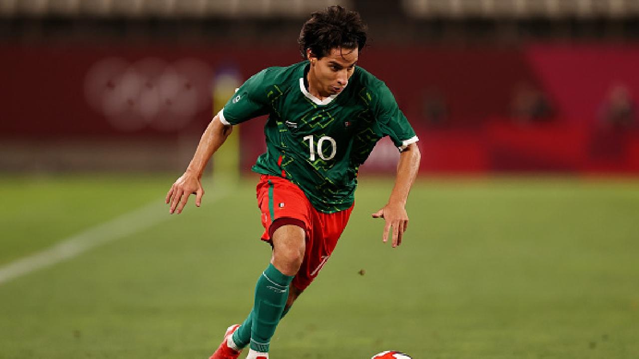 diego lainez selección mexicana olímpica Tokyo 2020