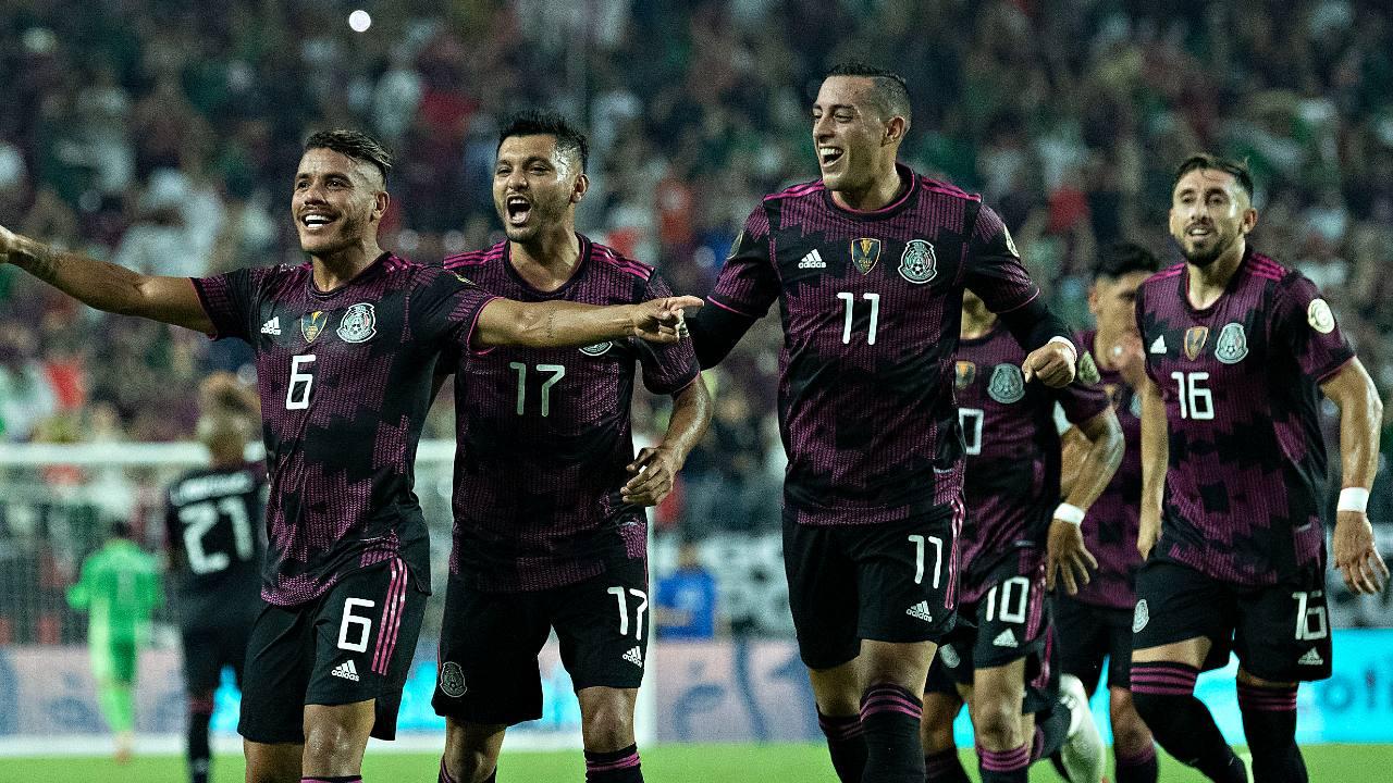Selección Mexicana calendario octagonal