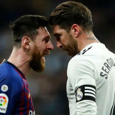 Leo Messi sergio ramos psg paris