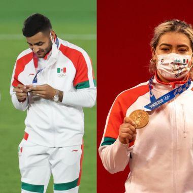 Tokyo 2020 medallistas mexicanos