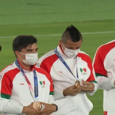 Selección Mexicana Olímpica bronce Tokyo 2020