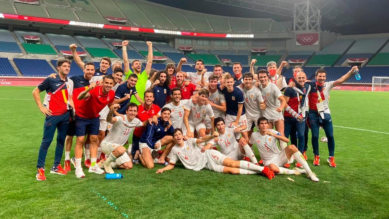 Tokyo 2020_ Brasil y España final olímpica futbo
