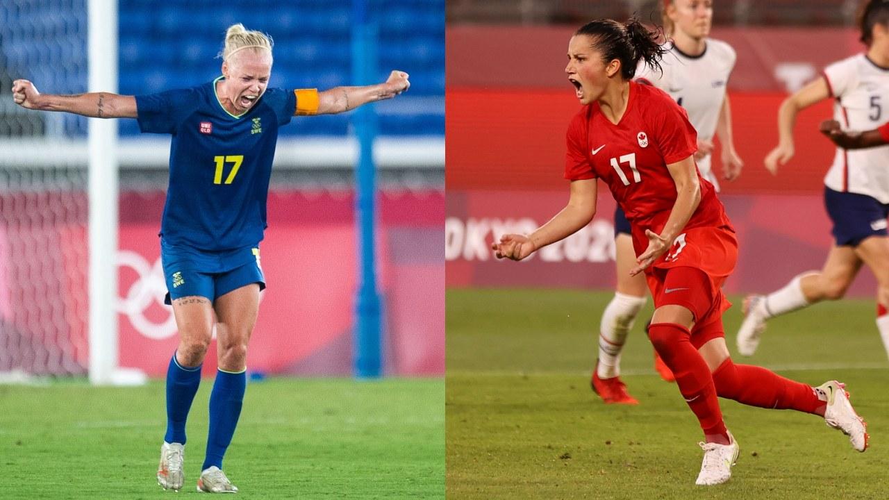 Tokyo 2020 Suecia Canadá final futbol femenil