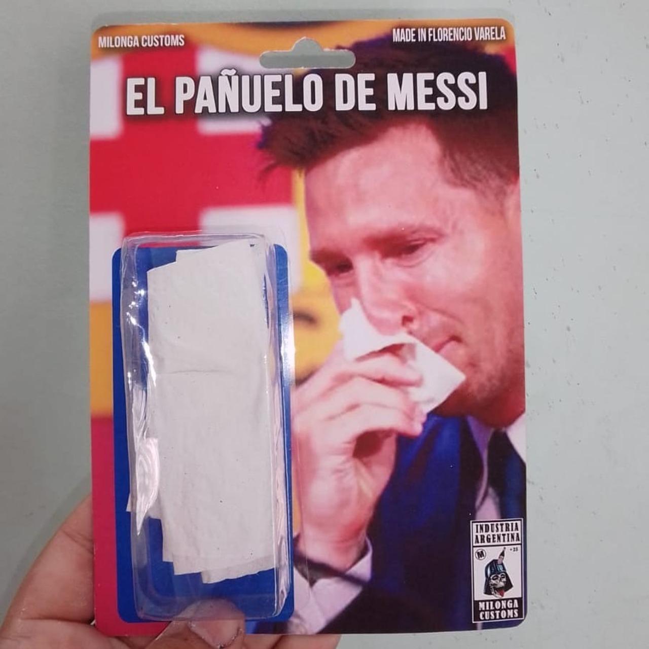 Pañuelo Leo Messi réplica