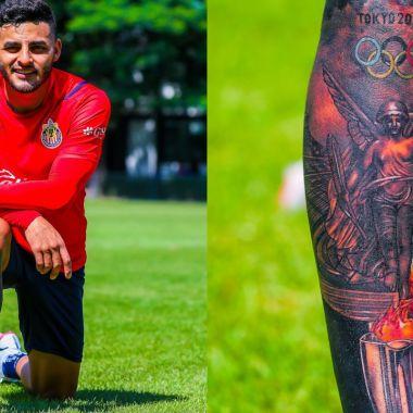 Alexis Vega tatuaje Tokyo 2020