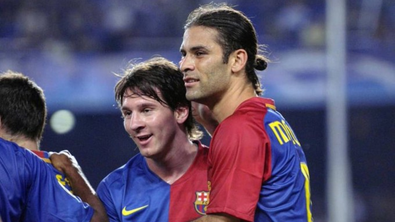 Rafael Márquez Lionel Messi Barcelona